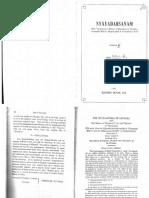 Nyayadarsanam - p. 1-111