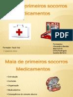 Mala de Primeiros Socorros e Medicamentos