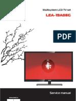 Akai LEA-19A08G Manual de Servicio LCD