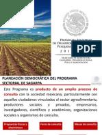 Programa Sectorial de Desarrollo Agro Pesq y Alim 2013-2018