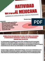 Unidad 8 Legislacion Normatividad Oficial Mexicana