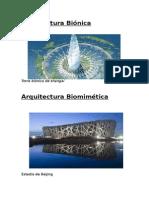 Arquitectura Biónica y Nanotecnologia