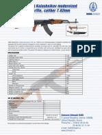 AKM Kalashnikov Modernized Assault Rifle