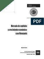 Mercado de Capitales BCV