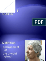 Lecture 5, Goiter