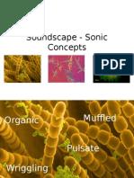 Soundscape - Sonic Concepts