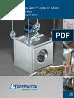 ventiladores centrifugos en linea
