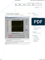 Community_ v-I Curve Tracer for NI MyDAQ - National Instruments