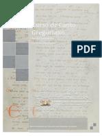 Apostila Basica Do Curso de Canto Gregoriano