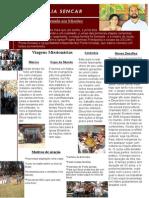 Carta Informativa Missionário Felipe e Larissa