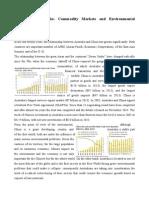 China and Australia Trad Commodity and Enviroment