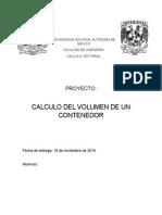 proyecto calculo vectorial volumen recipiente