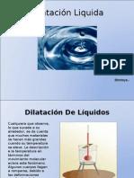 Dilatación de Líquidos