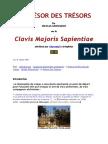 GROSPARMY Nicolas - Le trésor des trésors ou Clavis majoris sapientiae.docx