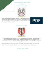 Historia Del Escudo de Armas Del Ecuador
