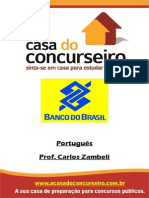 Apostila Português 2015 - Professor Carlos Zambeli