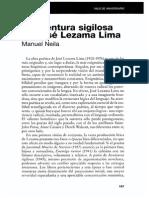 La Aventura Sigilosa de Jose Lezama Lima