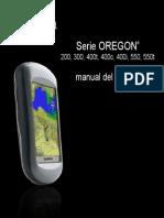 Manual GPS Oregon 550 550 ES