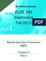 Chapter 5-Bipolar Junction Transistor BJT JB STUDENTS PART 1