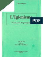 Albert I. Mosséri - L'Igienismo - Piccola Guida Del Principiante