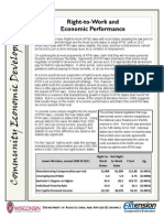 UW Extension Right to Work Fact Sheet