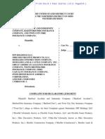 HARTFORD ACCIDENT AND INDEMNITY COMPANY et al v. FFP HOLDINGS LLC et al complaint