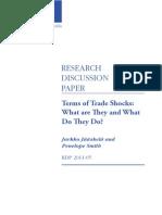 Trade Shocks in Australia