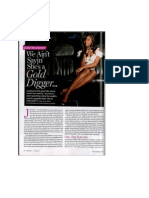Inside the Life of a Golddigger- Essence June 2010