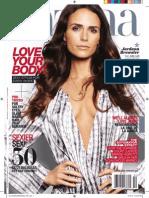 Jordana Brewster Coverstor-Lataina Magazine Feb 2013