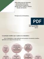 Principios de La Criminalistica.