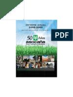 Informe Asocaña 2008-2009