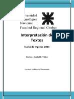 Cuadernillo Interpretación de Texto