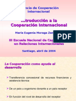 Introduction to International Cooperation