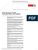 Clear the Ports of Bad Communication, Low Budgets_February 04, 2014_The Jakarta Post
