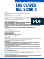 Sicad2 Claves