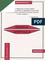 Henri Bergson - Energia spirituala.pdf