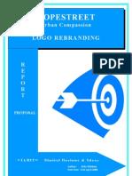 Report Proposal Rebranding Company Logo NB