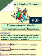 Pontos Notáveis Prof Alessandro