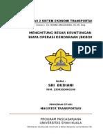 Tugas 2 Sistem Ekonomi Transportasi Bkbok (Sri Budiani)