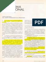Carta Pastoral La Reforma Educacional 1981