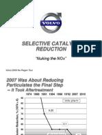 Tecnologia Scr Aplicable a Motores Volvo