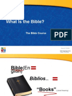 powerpoint what is the bible