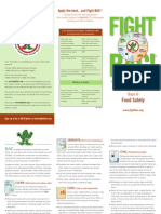 SafeFoodPrep FightBAC Brochure