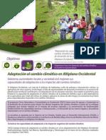 Adaptacion Al Cambio Climatico Altiplano Guate