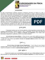 LEI DE GAUSS, FLUXO ELETRICO E MAGNETICO