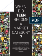 When Did Teen Become a Market Category?