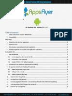 AF Android Integration Guide v2.3.1.12