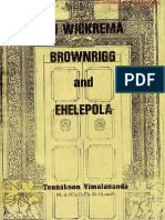 Sri Wickrema Brownrigg and Ehelepola