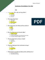 Huck Finn Test