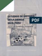 Estudios de La Historia de La Ciencia en El Peru